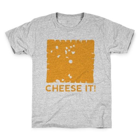 Cheese It (tank) Kids T-Shirt