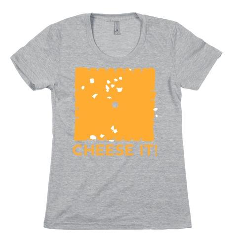 Cheese It (tank) Womens T-Shirt