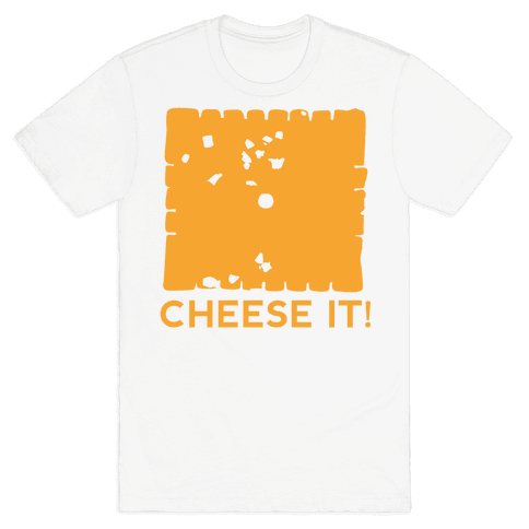 Cheese It (tank) Mens T-Shirt