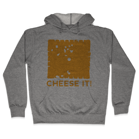Cheese It (tank) Hooded Sweatshirt