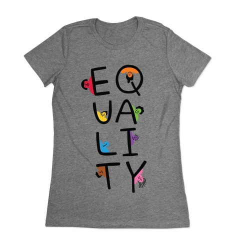 Equality People Womens T-Shirt