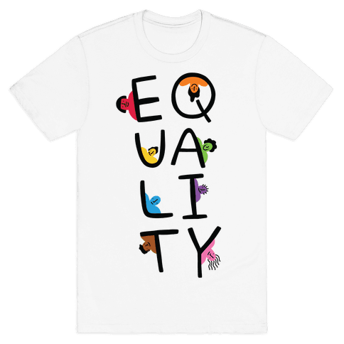 Equality People Mens/Unisex T-Shirt