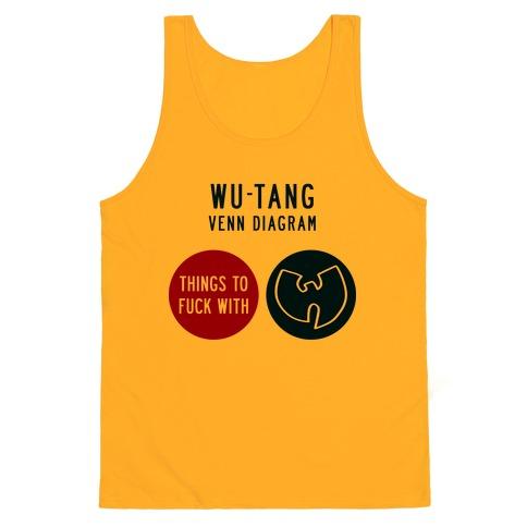 Wu Tang Venn Diagram Tank Top Lookhuman