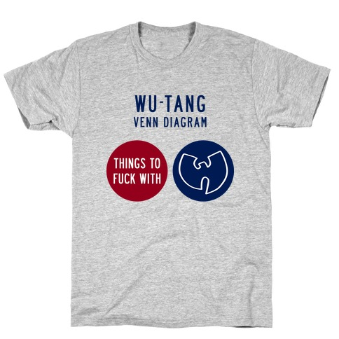 Wu-Tang Venn Diagram T-Shirt