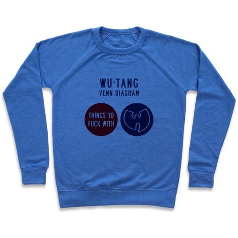Wu Tang Venn Diagram Crewneck Sweatshirt Lookhuman