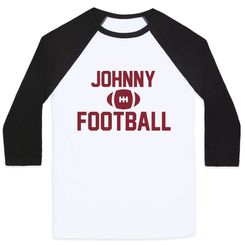 Johnny Football Baseball Tee