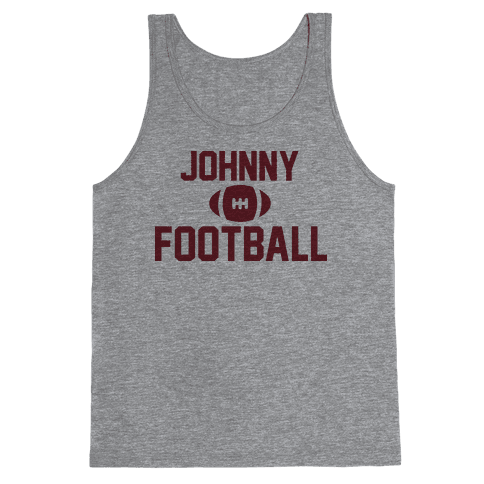 Johnny Football Tank Top