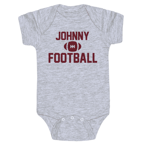 Johnny Football Baby Onesy