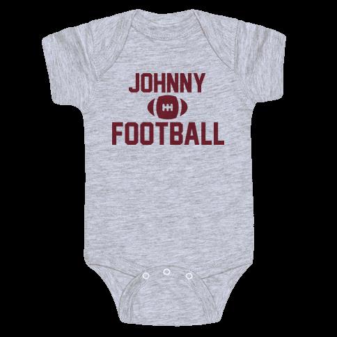 Johnny Football Baby Onesy