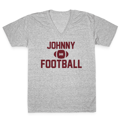 Johnny Football V-Neck Tee Shirt