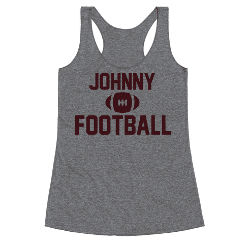 Johnny Football Racerback Tank Top