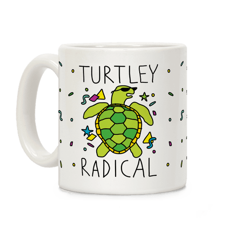 Turtley Radical  Coffee Mug