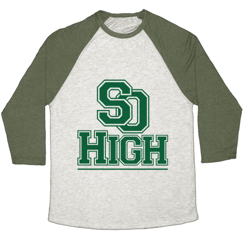 So High Baseball Tee