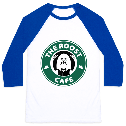 The Roost Cafe Baseball Tee