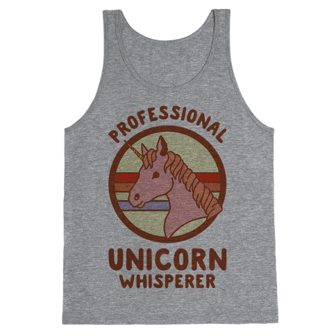Professional Unicorn Whisperer Tank Top