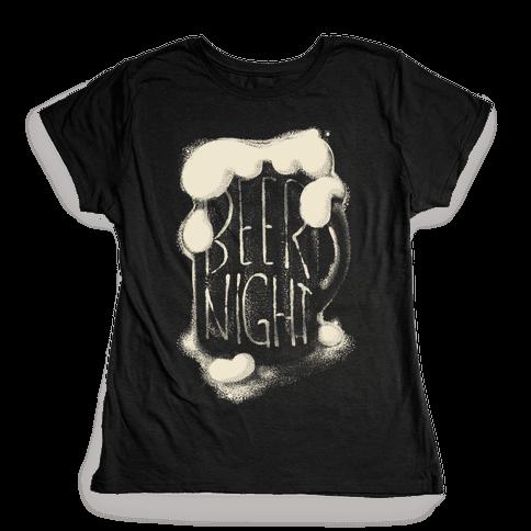 Beer Night Womens T-Shirt