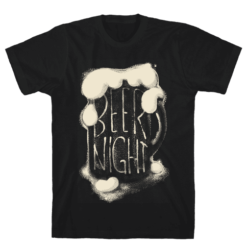 Beer Night Mens T-Shirt