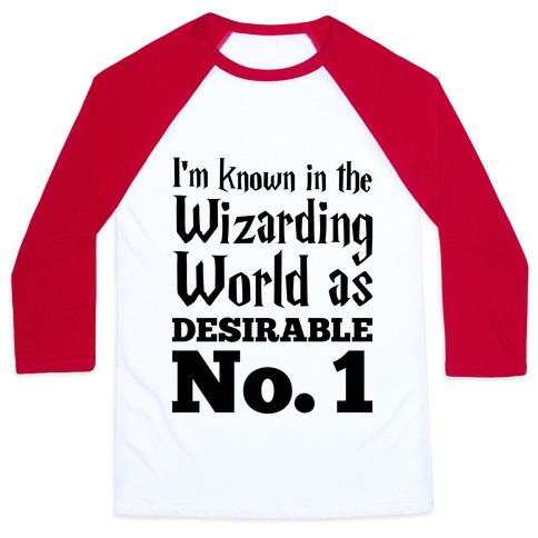 Desirable No. 1 Baseball Tee