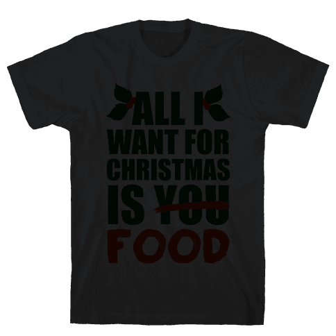 All I Want For Christmas Is Booze Mens T-Shirt