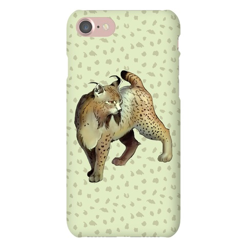 Wild Cat Lynx Phone Case