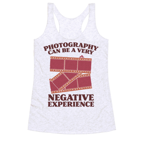 Photography Can Be a Very Negative Experience