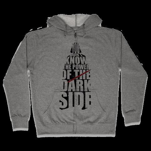 Power of the Dark Side Zip Hoodie