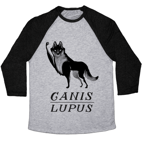 Canis Lupus (Part 2) Baseball Tee