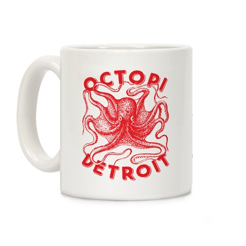 Octopi Detroit Coffee Mug