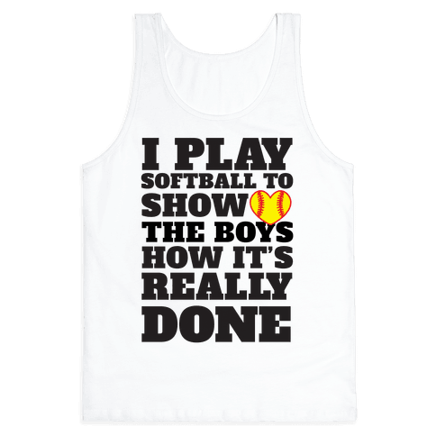 Show The Boys Tank Top