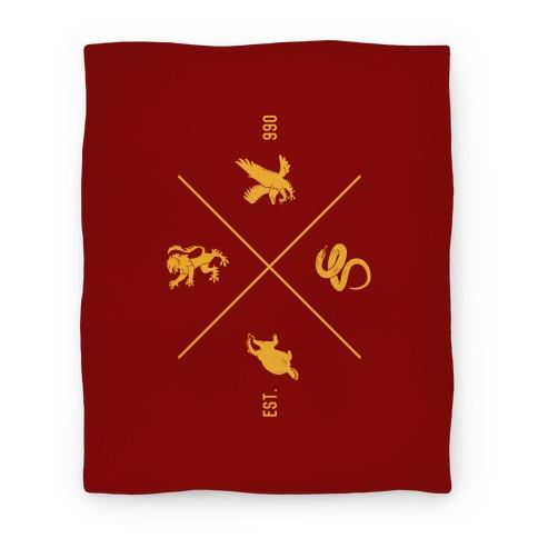 Hogwarts Crest Blanket (Gryffindor) Blanket