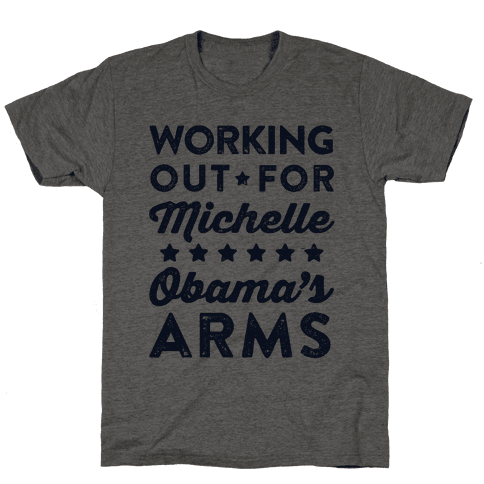 Working Out For Michelle Obama's Arms