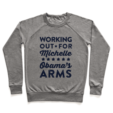 Working Out For Michelle Obama's Arms Pullover