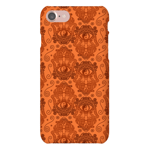 Peaceful Hamsa Hand Phone Case