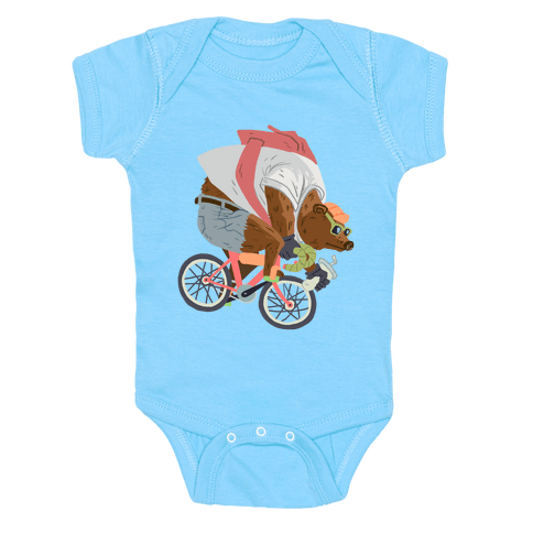 Fixed Gear Bear Baby Onesy