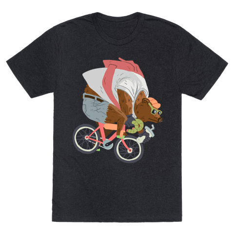 Fixed Gear Bear Mens T-Shirt