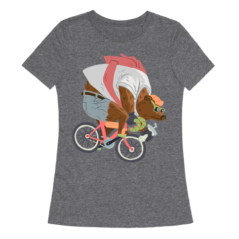 Fixed Gear Bear Womens T-Shirt
