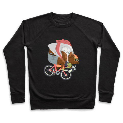 Fixed Gear Bear Pullover
