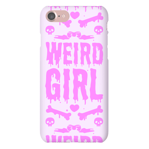Weird Girl Phone Case