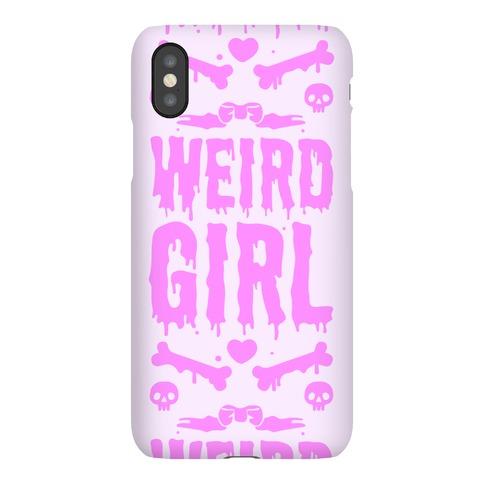 Weird Girl Phone Case