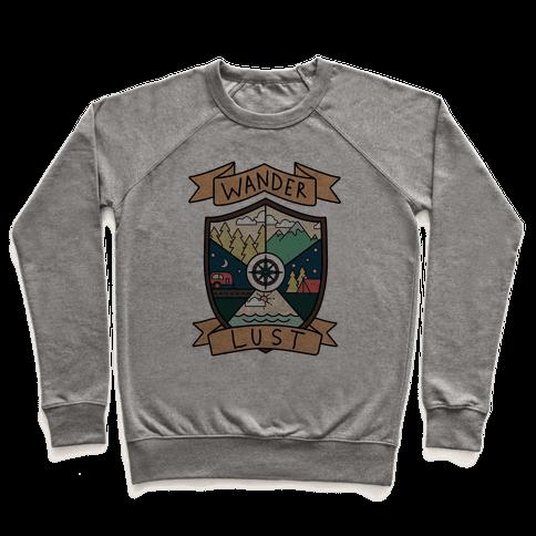Wanderlust Crest Pullover