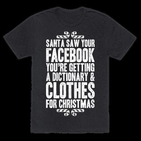 Santa Saw Your Facebook