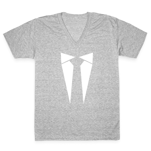 The Last Suit You'll Ever Wear V-Neck Tee Shirt