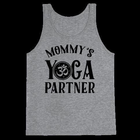 Mommy's Yoga Partner Tank Top