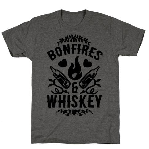 Bonfires & Whiskey T-Shirt