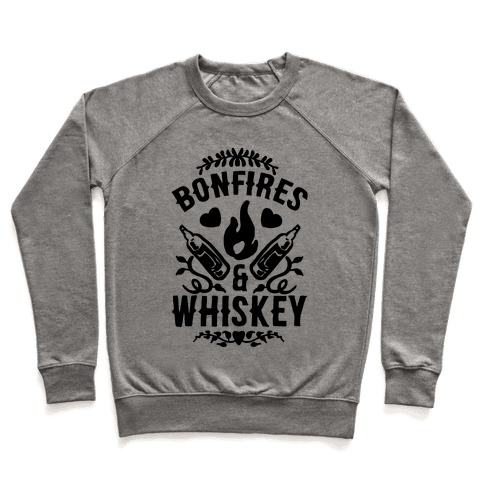 Bonfires & Whiskey Pullover