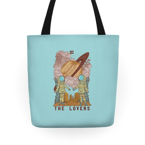 The Lovers in Space Tote