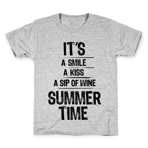 Summertime Kids T-Shirt