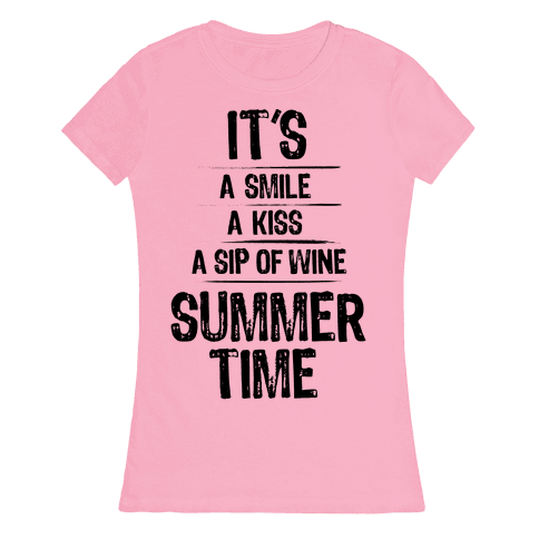 Summertime Womens T-Shirt