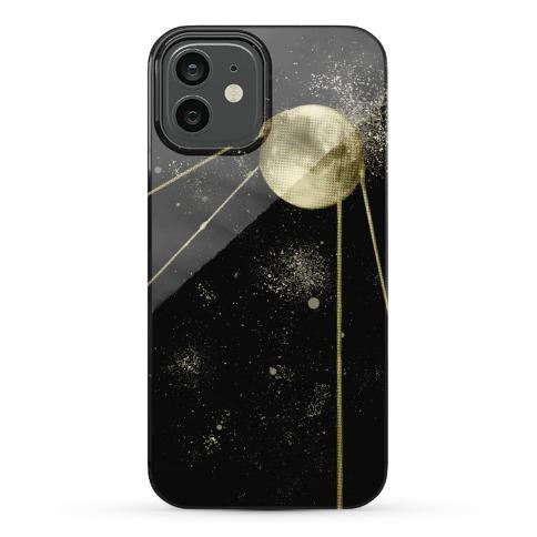 Sputnik Gold Phone Case