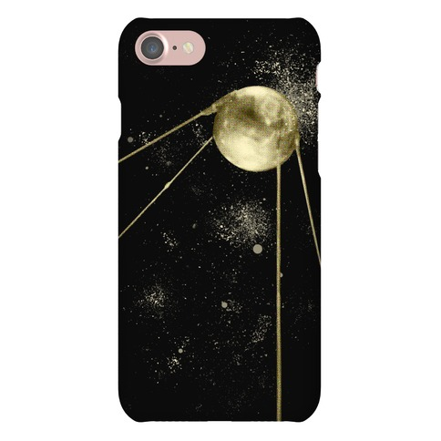 Sputnik Gold Phone Case